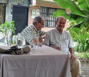 Larry Korn en Medellín