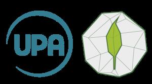 Red de huerteros UPA logos