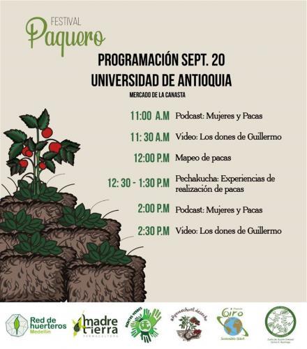 Programa Festival Paquero